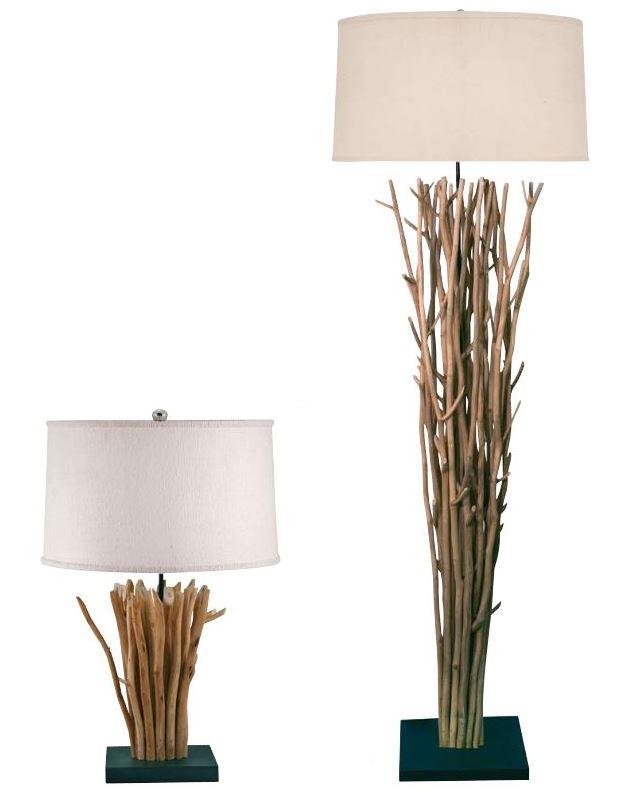 Metal Twig Floor Lamps : Bring in nature with lamps